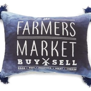 "Accents - Broyhill ""Farmers Market"" Ombre Throw Pillow"